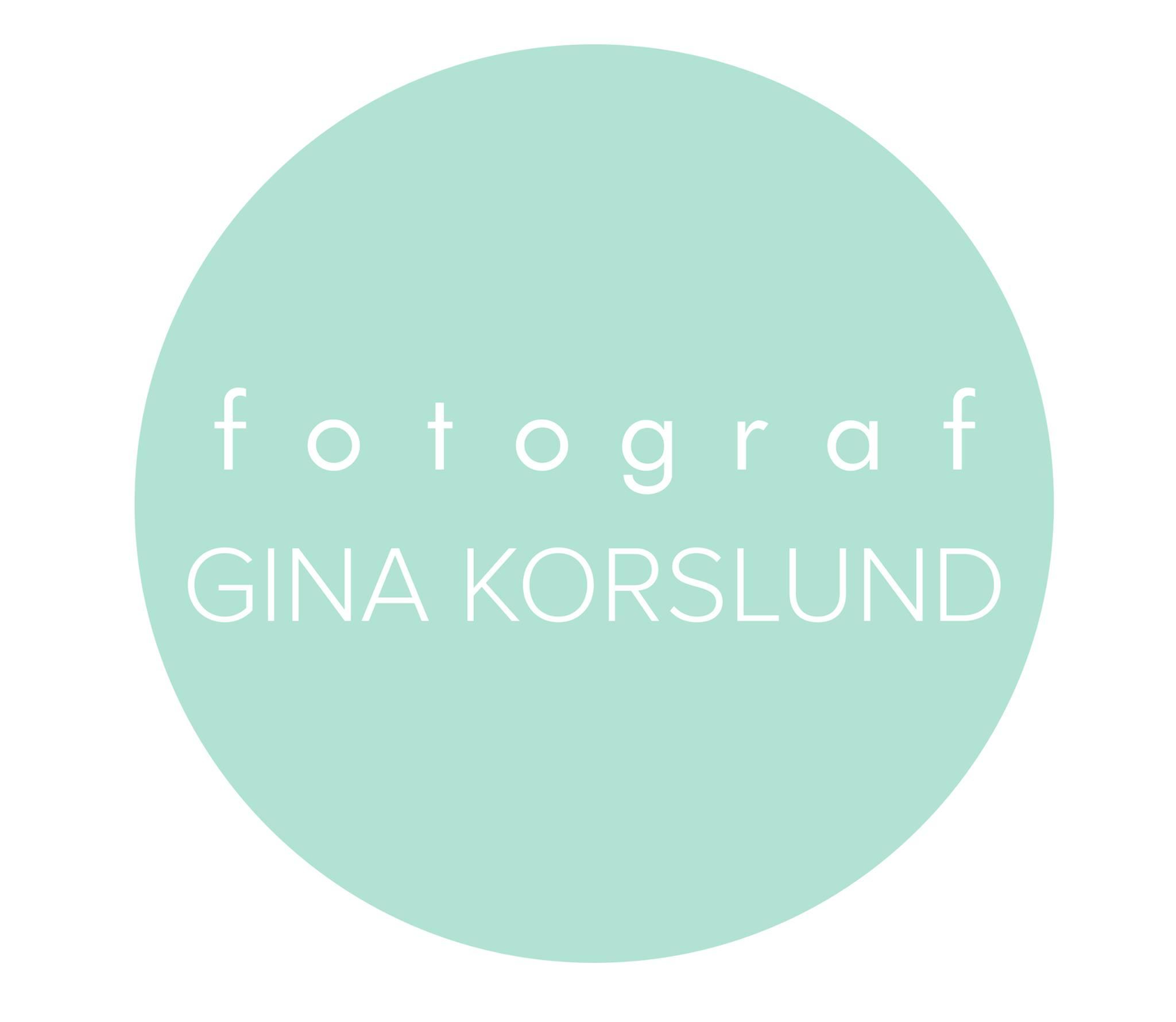 Fotograf Gina Korslund